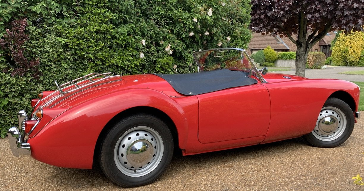 1960 MGA Roadster, 1622cc, RHD, 5 Spd, Only 4 Owners SOLD (picture 5 of 6)