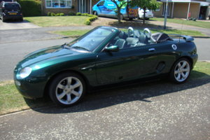 Exceptional condition MGF VVT eddition.