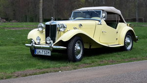 1953 MG TD 2 LHD