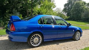 MG ZS180 2.5 V6 Manual Saloon in Trophy Blue. Mint