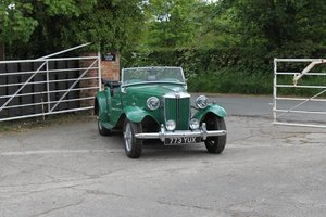 1953 MG TD, Great driver, Usable example