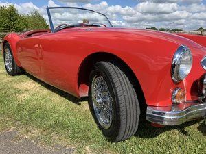 MGA Mk1 Roadster 1960 Original UK RHD
