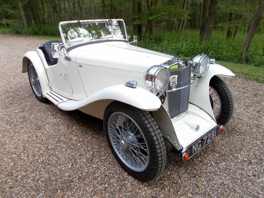MG PA Midget 1934 Two Seater  For Sale (picture 1 of 6)