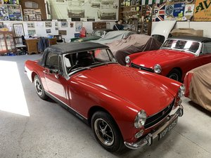 1970 MG Midget MkIII 1275cc  for sale by Mike Authers Classics  For Sale