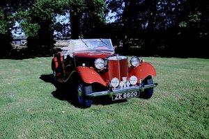1950 MG TD MK1