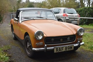1974 MG Midget for restoration 30/5/20 SOLD by Auction