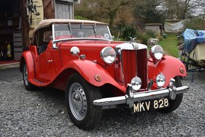 1953 MG TD fully restored 30/5/20 SOLD by Auction