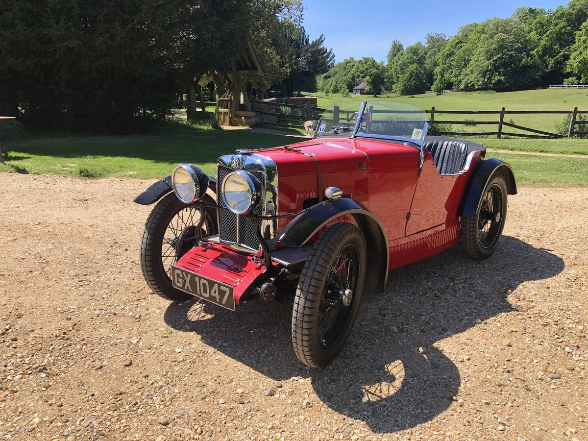 1932 MG 'M' Type Midget - current VSCC Buff Form SOLD (picture 1 of 24)