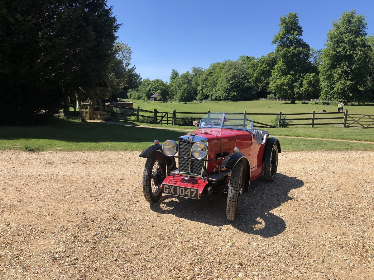 1932 MG 'M' Type Midget - current VSCC Buff Form SOLD (picture 5 of 24)