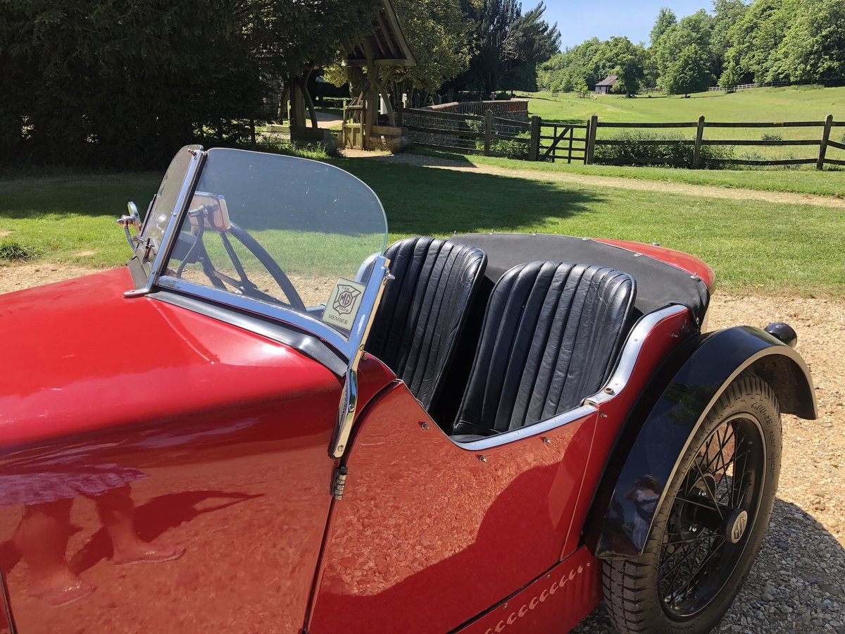 1932 MG 'M' Type Midget - current VSCC Buff Form SOLD (picture 12 of 24)