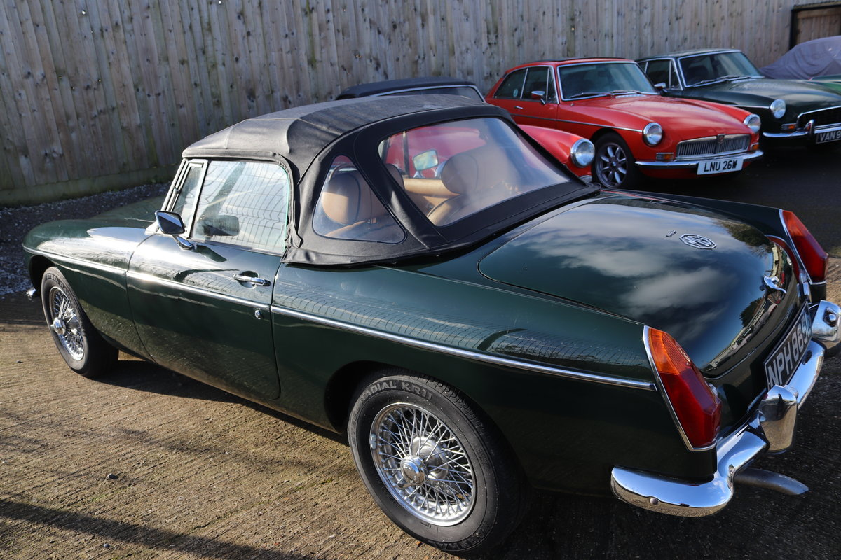1972 MGB Roadster Heritage Shell, Bespoke interior For Sale (picture 4 of 5)