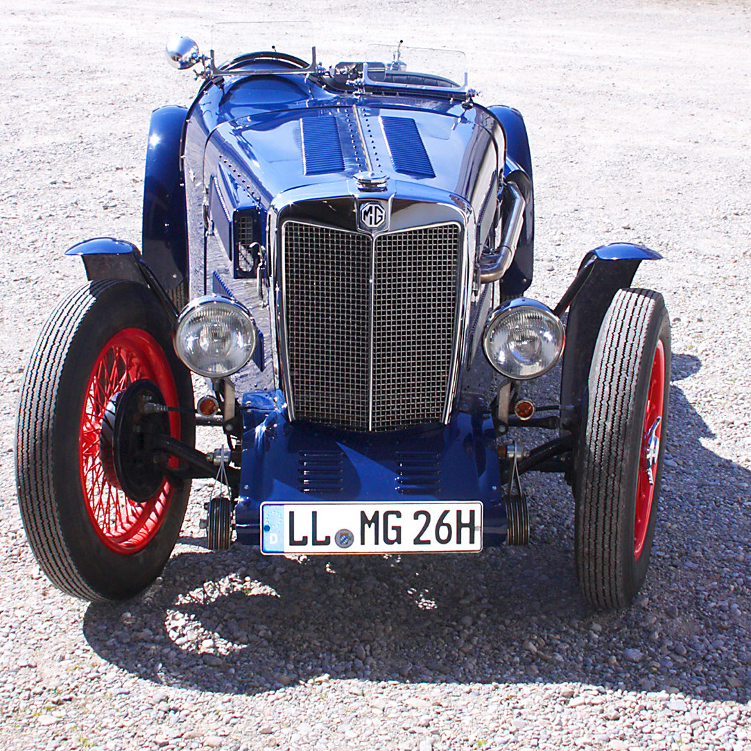 1937 MG TA Special Racecar with 14hp engine SOLD (picture 1 of 6)