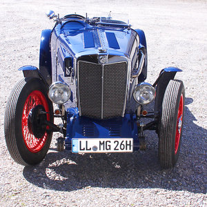 MG TA Special Racecar with 14hp engine