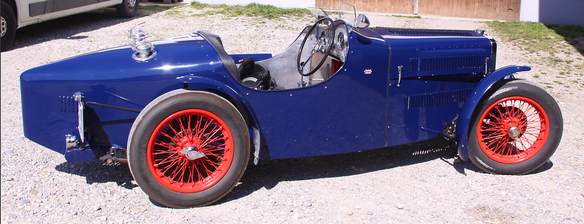 1937 MG TA Special Racecar with 14hp engine SOLD (picture 4 of 6)