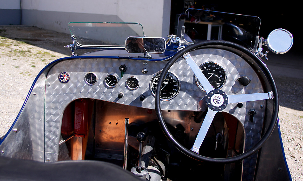 1937 MG TA Special Racecar with 14hp engine SOLD (picture 5 of 6)