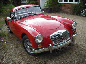 1957 MGA Coupe - UK RHD