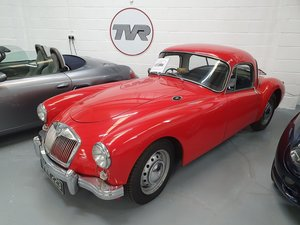 1955 MGA Coupe 1958 - Restored and in Superb Condition