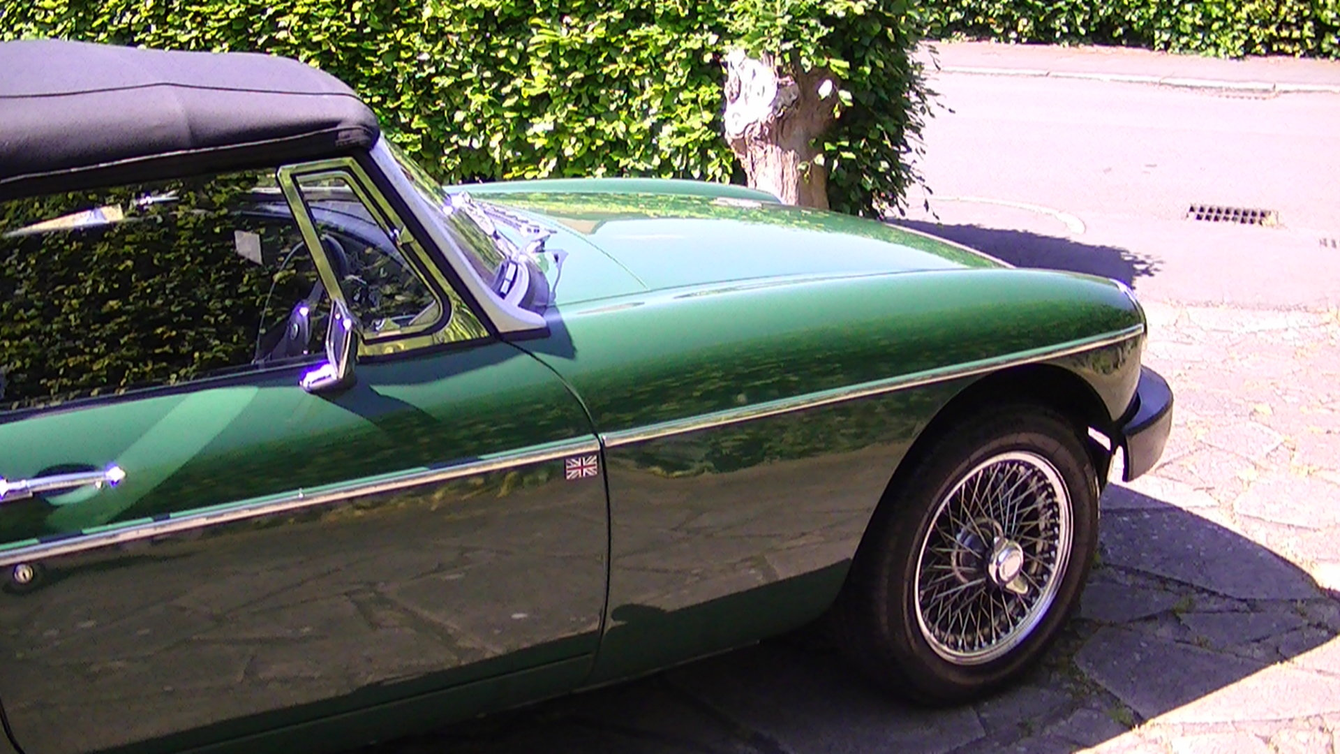 MG MGB Roadster 1977 For Sale (picture 1 of 6)