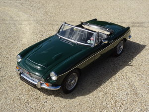 1967 MGC Roadster – Exceptional Car with Overdrive