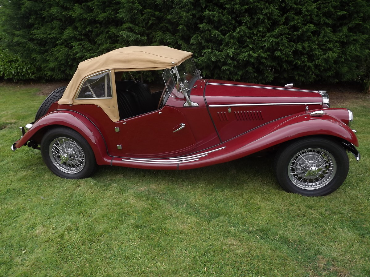 1954 MG TF - RHD For Sale (picture 1 of 6)