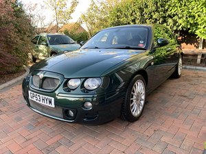 2003 MG ZT 4.6 V8 260 SE MK1 - British Racing Green