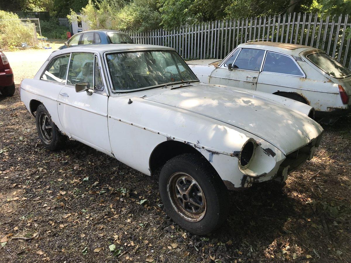1975(N) MG BGT &1980(W) MG BGT for restoration  For Sale (picture 1 of 6)