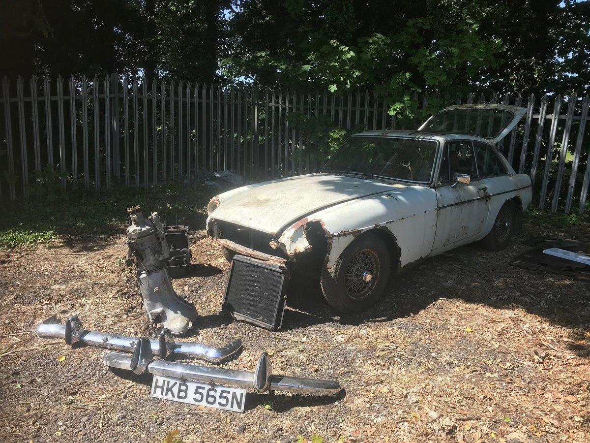 1975(N) MG BGT &1980(W) MG BGT for restoration  For Sale (picture 3 of 6)