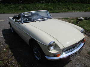 Picture of 1978 MGB Roadster Chrome Conversion  SOLD
