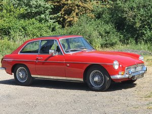 MG B GT, 1970, Red, Overdrive For Sale