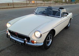 1972 MGB Roadster Exceptional Chrome Bumper
