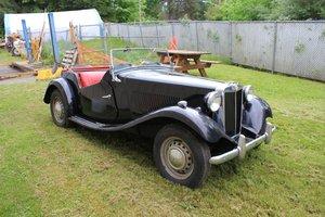 Lot 199- 1952 MG TD Roadster