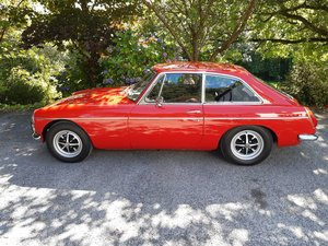 MGB GT - Stunning in red