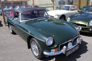 1972 MGB Roadster, HERITAGE SHELL in BRG For Sale