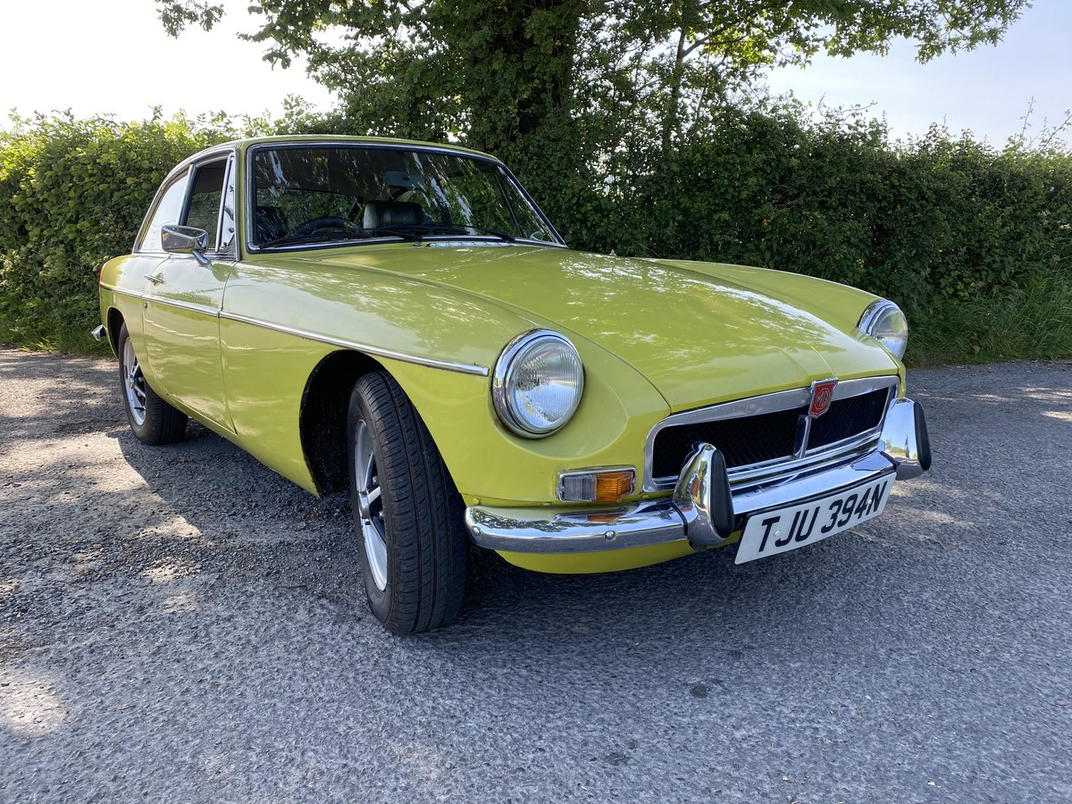 1974 MGB GT Citron Yellow  SOLD (picture 1 of 6)
