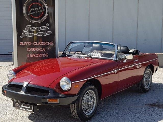 1976 Mg-b roadster 1.8 mk3 For Sale (picture 1 of 6)