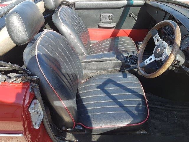 1976 Mg-b roadster 1.8 mk3 For Sale (picture 5 of 6)