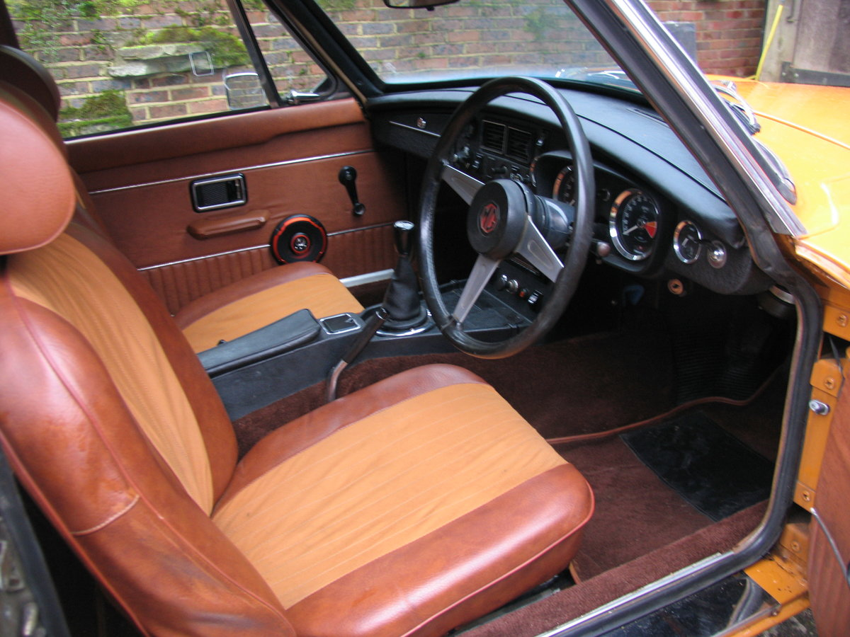 1974 MGBGT Showroom Condition For Sale (picture 5 of 6)