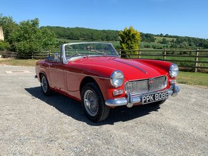 Lovely MG Midget Mk111 in Herefordshire