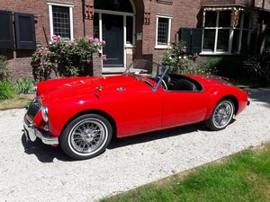 Picture of MG A roadster red 1957 stunning condition SOLD