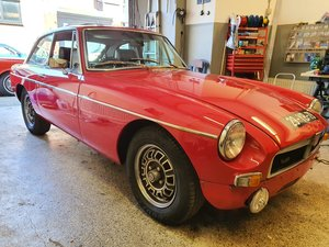 MGB V8 Original factory build