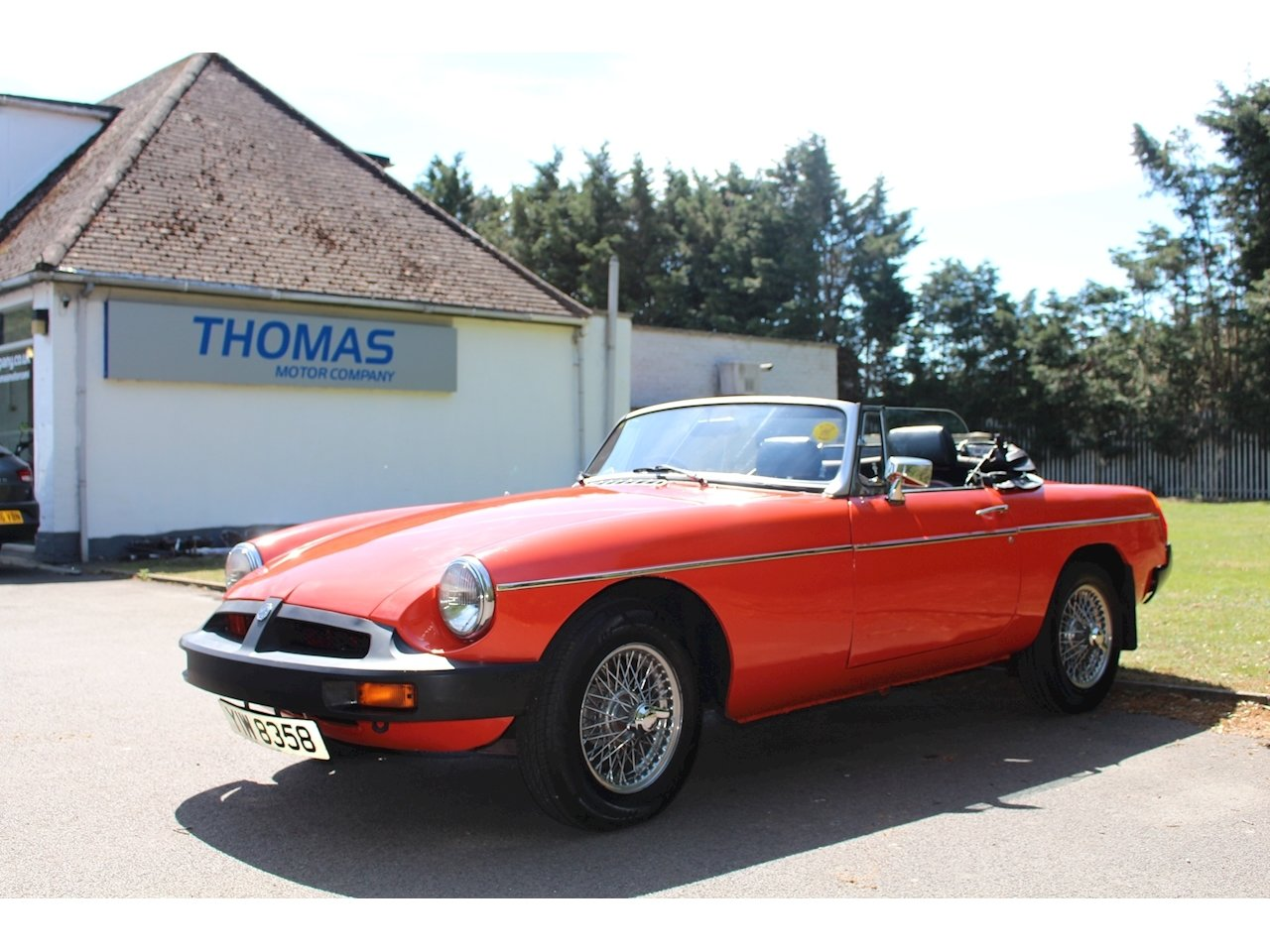 1979 MGB in Lovely condition looks stunning For Sale (picture 1 of 6)