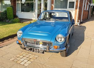 1968 MGC GT in Riviera Blue with only 3 former keepers. For Sale