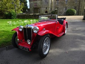 1946 MG TC - Fully rebuilt in 2019 For Sale
