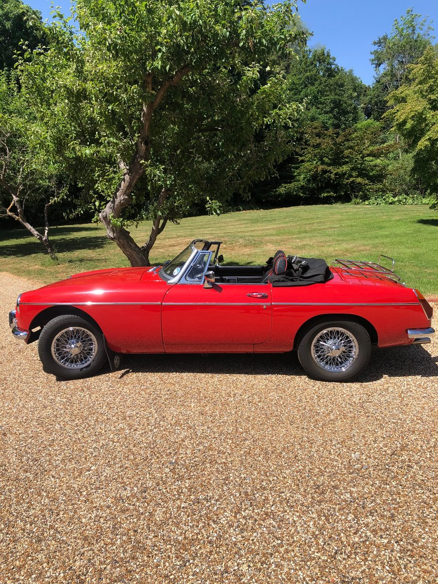 1973 MG B ROADSTER HERITAGE SHELL  SOLD (picture 1 of 6)