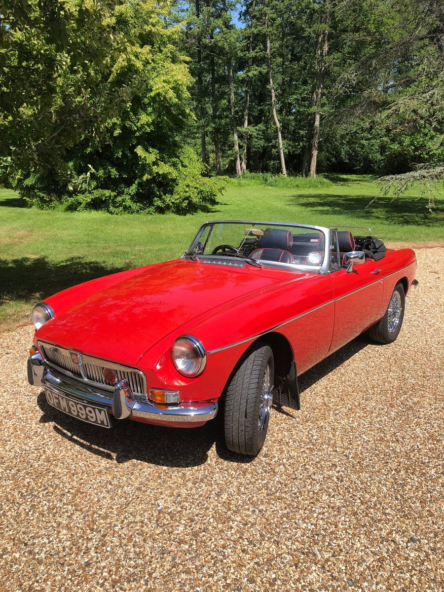 1973 MG B ROADSTER HERITAGE SHELL  SOLD (picture 2 of 6)