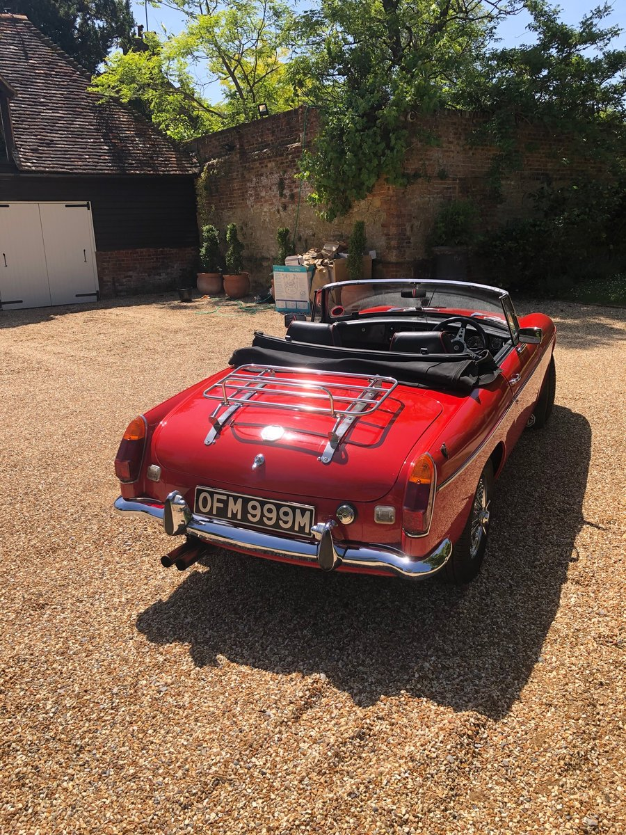 1973 MG B ROADSTER HERITAGE SHELL  SOLD (picture 3 of 6)