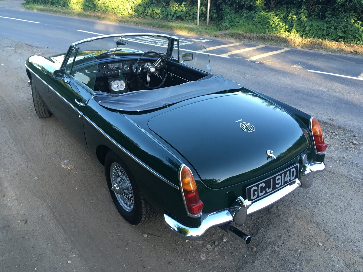 1966 MGB Roadster with overdrive SOLD (picture 6 of 6)