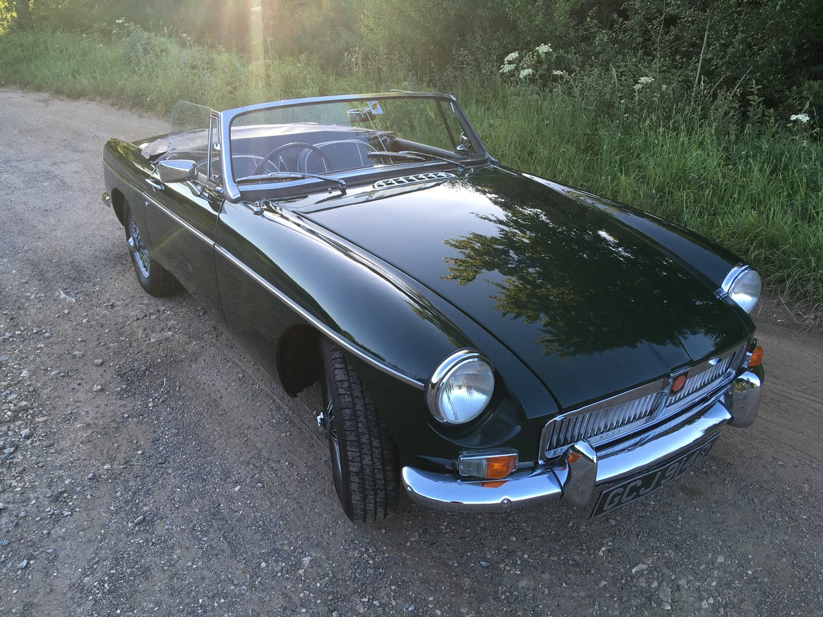 1966 MGB Roadster with overdrive SOLD (picture 1 of 6)