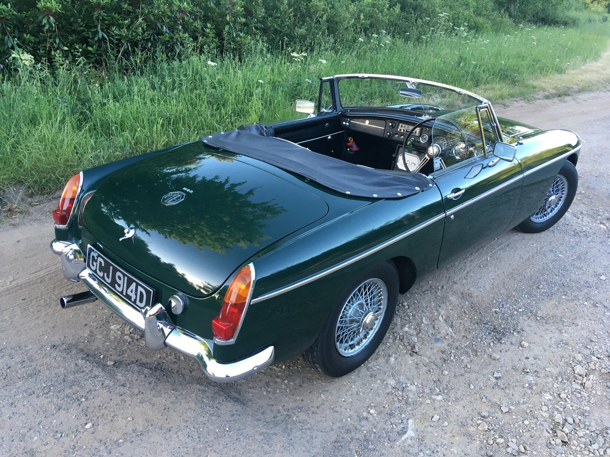 1966 MGB Roadster with overdrive SOLD (picture 3 of 6)