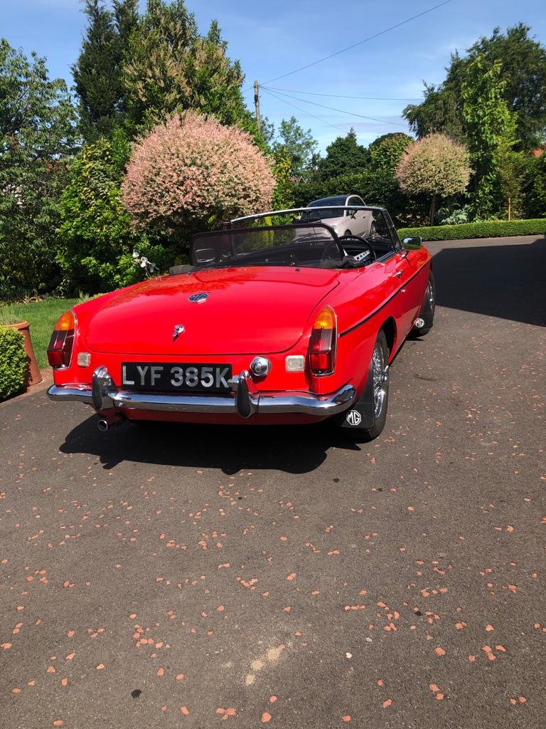 1972 MGB roadster SOLD (picture 6 of 6)
